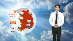 [날씨] 내일 올해 최고 더위...온열 질환 조심!