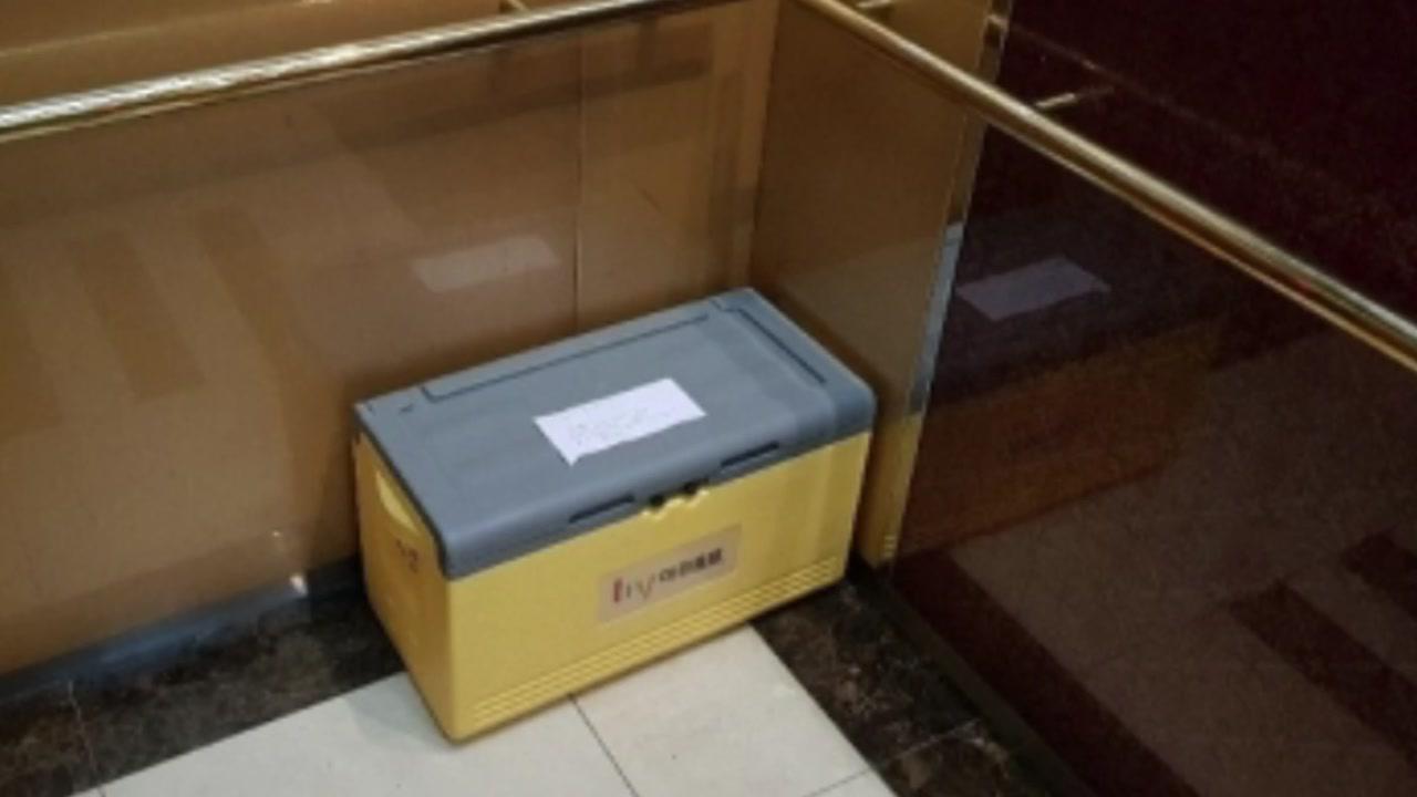[좋은뉴스] 아파트 엘리베이터 안에 놓인 '상자'의 정체