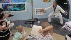 격투기 선수가 소아암 병동에 가는 특별한 이유