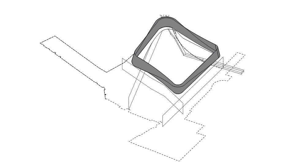 〔안정원의 건축 칼럼〕76mm의 강철 파이프를 외관에 두른 독특한 외관과 고성의 조화로움2