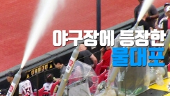[자막뉴스] 야구장에 등장한 물대포...일본도 '관심'