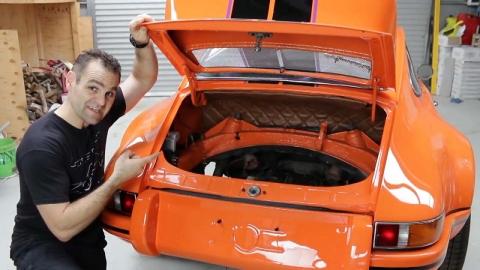 폐차 직전 차량, 새 차로 탈바꿈시킨 남성