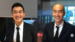 """""""다시 태어났다""""…김인석, 라이브 삭발식 화끈한 공약 이행"""