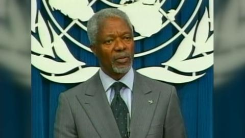 코피 아난 전 유엔 사무총장 별세…전 세계 애도