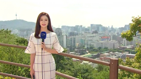 [날씨] 내일 33℃ 폭염…태풍 '솔릭' 한반도 관통↑