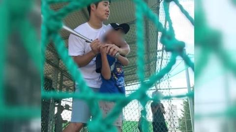 [좋은뉴스] 휴식기 맞아 보육원으로 달려간 야구선수