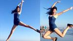 """""""점프 점프""""…클라라, 아찔한 S라인 과시"""