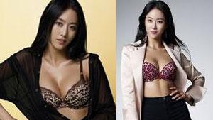 전혜빈, 속옷만 입고…풍만한 가슴 라인 '섹시'