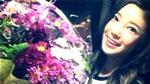 NS윤지, 꽃과 우열 가릴 수 없는 미모