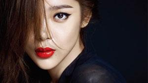 박시연, 펄 눈매+보라색 입술…신비로운 매력