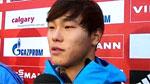 스켈레톤 윤성빈, 썰매 최초 월드컵 동메달