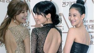 수영-장나라-오연서 '오늘의 섹시백은 누구?'