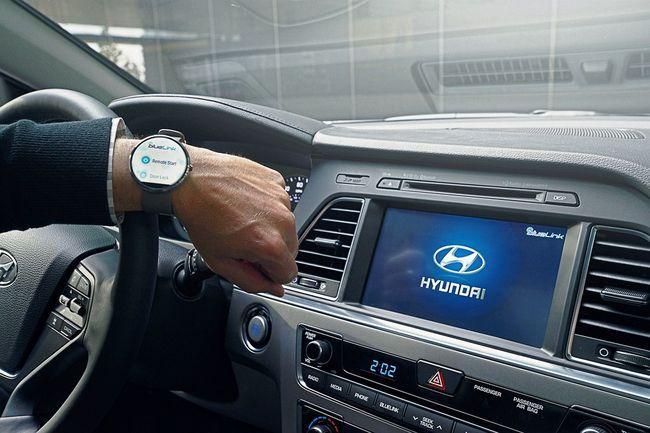 현대차, 스마트워치 연결 미래 차량IT 신기술 제시_이미지3