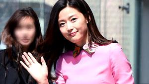 전지현,'봄의 여신 등장이요~'