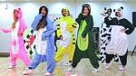 달샤벳의 공약 이행…동물 잠옷 버전 '조커'