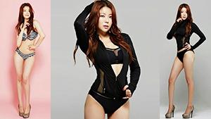 노수람, 비키니 화보 '명품 몸매 인증'