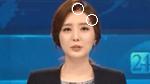 김소영 아나운서, 머리핀 꽂은 채 뉴스 진행
