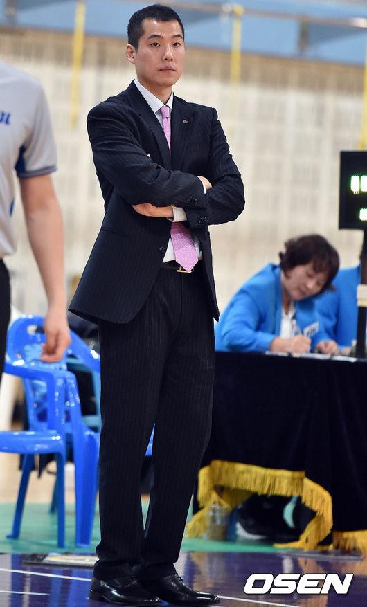 KCC 최승태 코치,'경기는 졌지만..나름 수확 있었던 경기'