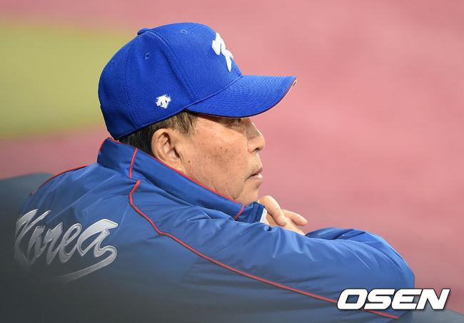 김인식 감독, '프리미어12 우승을 향해'