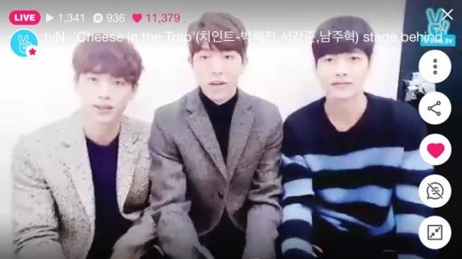 """'치즈인더트랩' 박해진·남주혁 """"고향 부산, 동네까지 같아""""_이미지"""