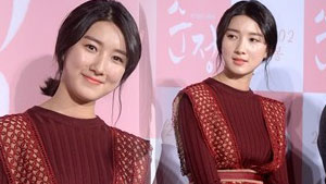 주다영 '소녀에서 숙녀로, 와인빛 매력!'