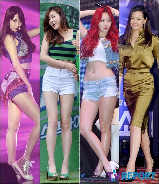 경리-강소라-유라-이하늬 '몸매 끝판왕, 다이어트 자극녀'