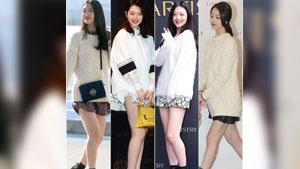 설리 '니트+초미니, 패션까지 러블리 소녀'