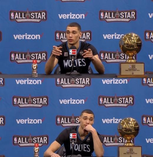 잭 라빈 NBA덩크슛 챔피언 등극...역대급 명장면 탄생