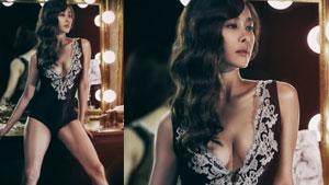 옥주현, 블랙 보디 수트+육감적인 몸매...관능美 물씬 '마타하리'
