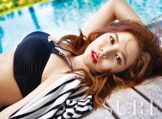 소녀시대 써니, 수영장서 '섹시 매력 200%'