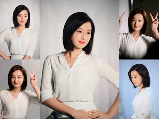 """김지원 """"빛나지 말입니다""""...광고 현장 속 도자기 피부"""