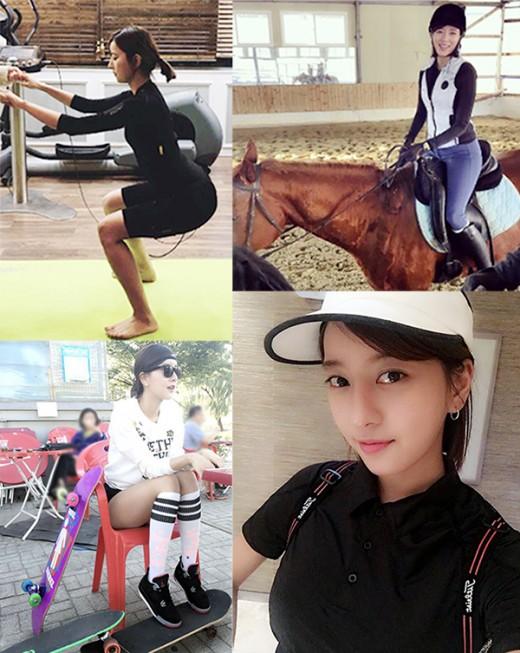최윤소, 명품 몸매 비결은 운동 또 운동 '10등신 위엄'