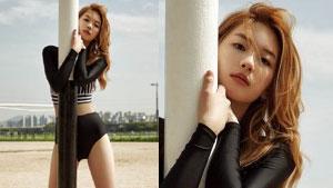 '조타부인' 김진경, 부러움 유발 수영복 자태 '아찔'