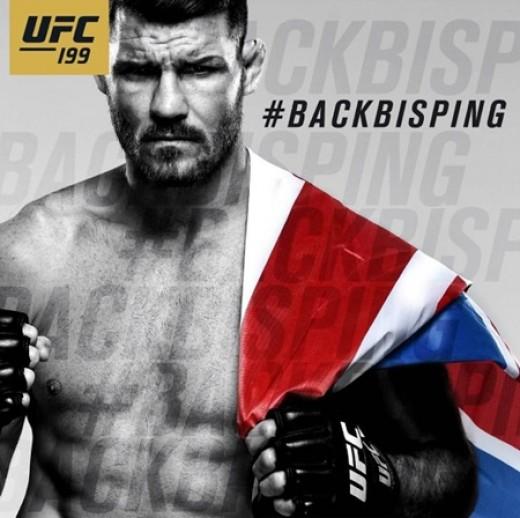 마이클 비스핑 10년만에 UFC 챔피언...英최초 대기록_이미지