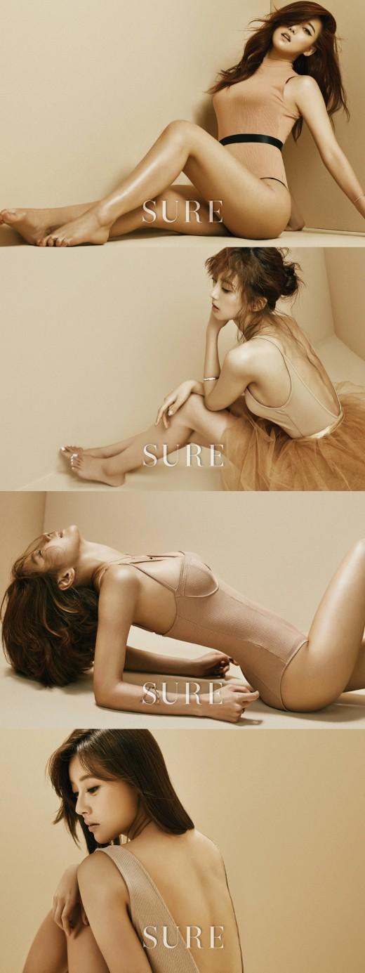승아·정아·윤조·천이슬, 4인4색 보디 뮤즈
