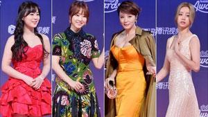 허영지-박보영-김혜수-혜리 '알록달록 드레스의 향연'
