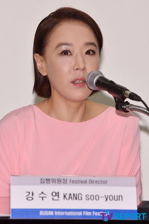 """BIFF 강수연 """"朴정부 탄압 참담..특검 수사 적극협조"""""""