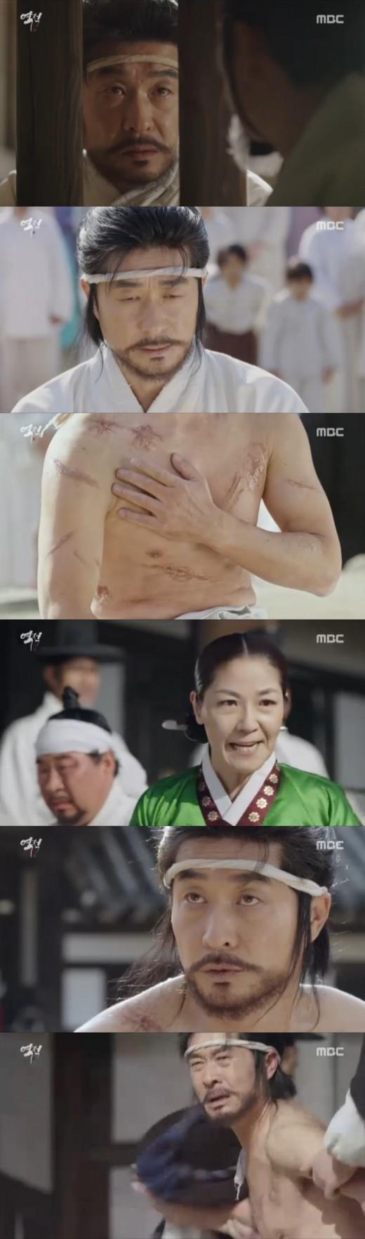 """""""아내 억울함 풀 것""""…'역적' 김상중, 목숨도 대놓았다_이미지"""