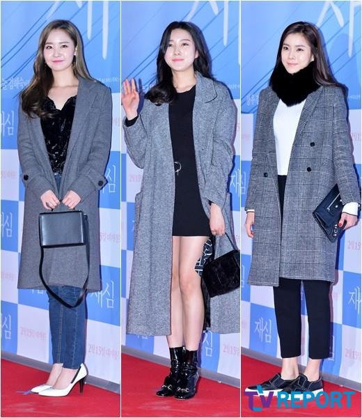 우희-주다영-황지현 '블랙&그레이, 여자의 시크미'