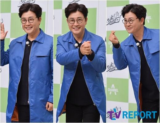 김성주 '유쾌상쾌통쾌, 쾌남 포즈 3종 세트'
