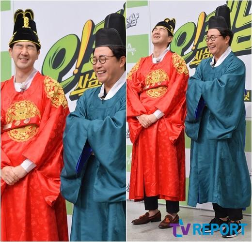 한상진-김성주 '빵빵 터지는 왕과 내시'