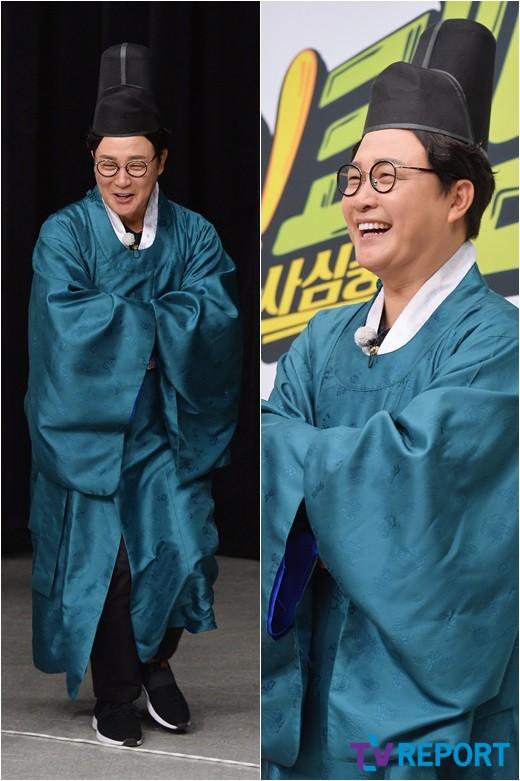김성주 '내시 복장도 잘 어울려'