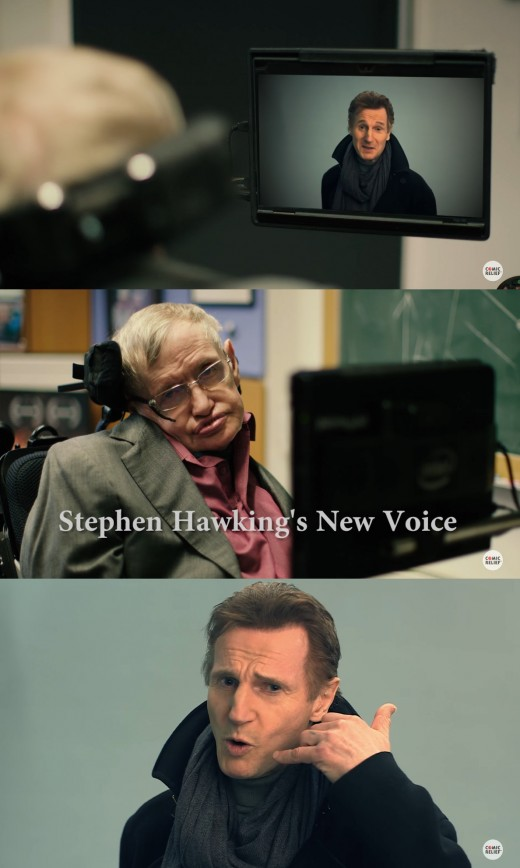 """""""스티븐 호킹, Pick me"""" 리암 니슨, 오디션 나선 이유"""