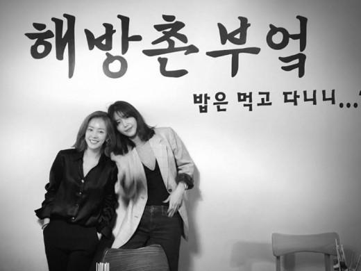 """""""예쁜 애 옆 예쁜 애"""" 한지민X채정안, 미녀들의 점심 회동_이미지"""