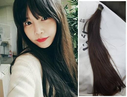 """이영아, 긴생머리→똑단발 변신 이유 """"머리카락 기부했어요"""""""