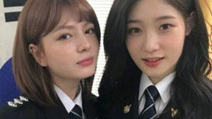 '제복美의 정석'...정채연 X 샤넌