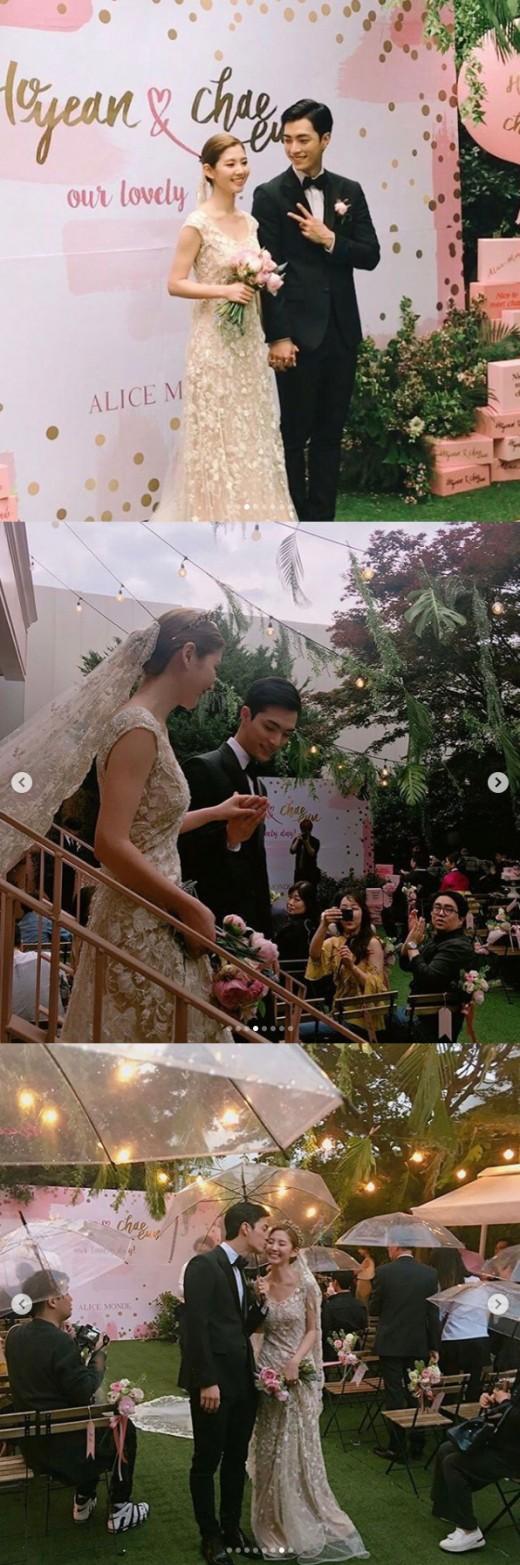 락채은♥이호연, 모델 커플에서 모델 부부로…13일 웨딩마치_이미지2