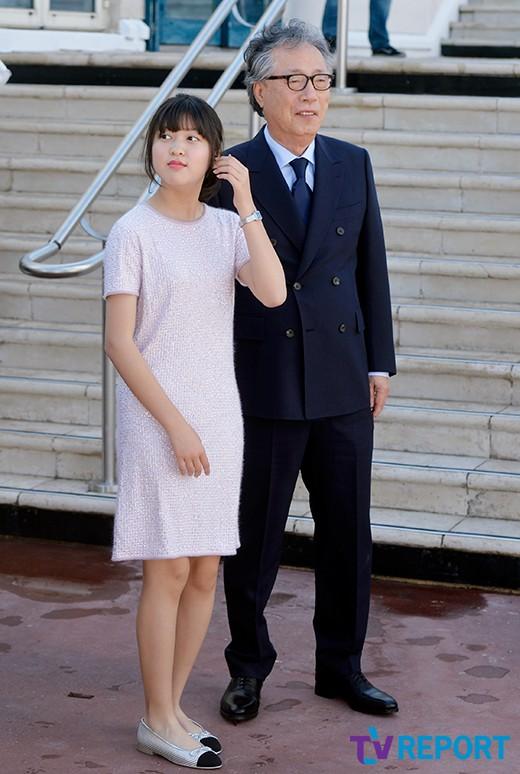 안서현-변희봉 '손녀와 할아버지'_이미지