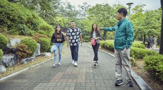 """'한끼줍쇼' 측 """"손나은, 얼굴 가려도 연예인 아우라"""" 감탄_이미지"""