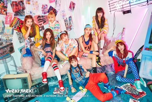위키미키, 첫 번째 미니앨범 오늘(8일) 오후 6시 전격 공개